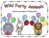 Wild Party Animals 1.OA.8 ~ Common Core