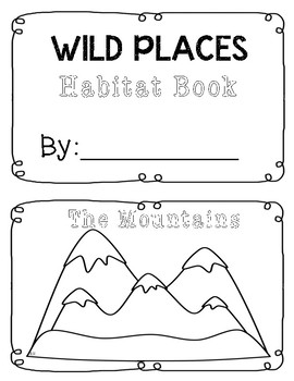 Wild Places Habitat Booklet