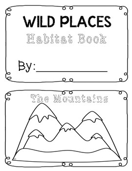 Wild Places Mountain Booklet Inserts