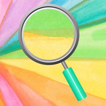 Wild Rainbow Watercolor Handpainted Background / Digital Paper / Clip Art