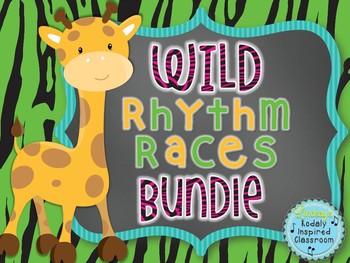 Wild Rhythm Races: Bundled Rhythm Games