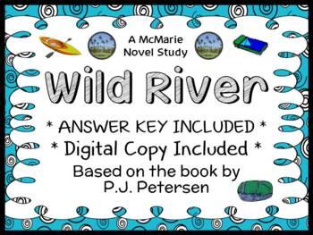 Wild River (P. J. Petersen) Novel Study / Reading Comprehension
