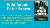 Wild Robot Book Club Discussion