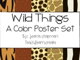 Wild Things: A Color Poster Set