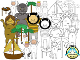 Wild Things Are Here! Clipart