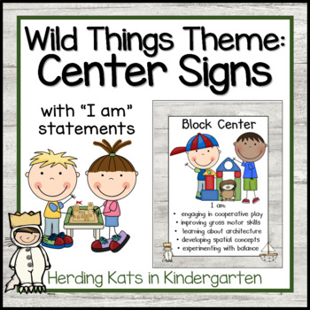 Where The Wild Things Are: Center Signs