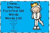 Sight Words Where the Wild Things Are Theme