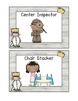 Where The Wild Things Are: Classroom Job Signs