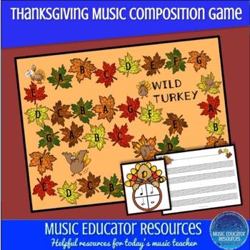 Wild Turkey; A Music Composition Game