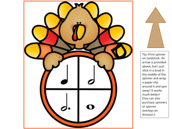 Thanksgiving Music Composition Game