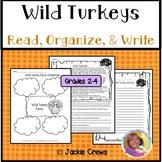 DIGITAL Wild Turkey Reading Comprehension Main Idea #Dista