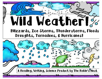 Wild Weather:  Blizzards, Ice Storms, Thunderstorms, Floods, Hurricanes...