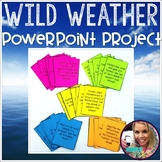 Weather Task Cards and Project