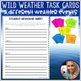 Weather Collaborative PowerPoint Project with Task Cards