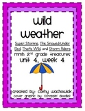 Wild Weather, MMH Treasures 2nd Grade, Unit 4 Week 4