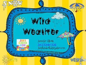 Wild Weather! Math & Literacy Unit