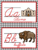 CURSIVE ALPHABET: Wild West Edition