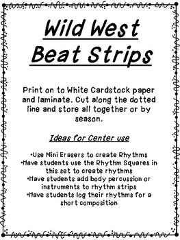Wild West Beat Strips