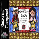 Western Decor Pack-- Lone Star Sheriffs Classroom Helpers
