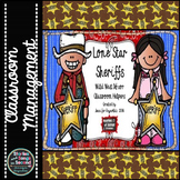 Western Decor Pack-- Lone Star Sheriffs Classroom Helpers