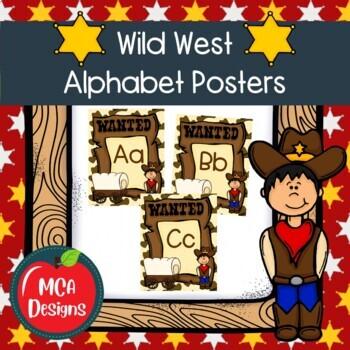 Wild West - Classroom Decor Ultimate Bundle