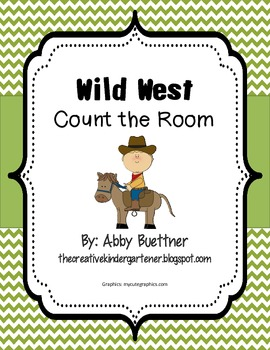 Wild West Count the Room Math Center