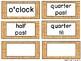 Wild West Cowboys Theme Clock Tags & Labels