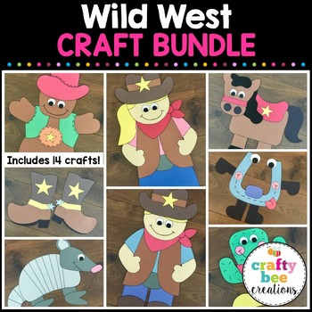 Wild West Cut and Paste Set