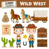 Wild West Digital Clipart Cowboy clip art Cowgirl graphics