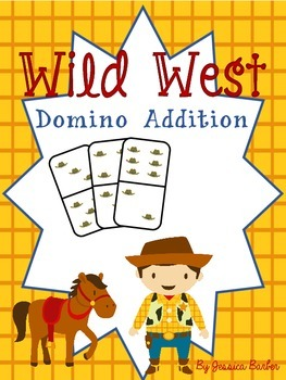 Wild West Domino Addition- A Western Math Game