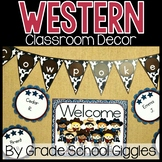 Editable Western Theme Classroom Decor ~ 400 Pages of West