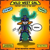 Wild West Gal – Clip Artists Collab FREEBIE