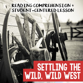 Wild West Lesson Plan: Cowboys, Miners, Sodbusters, and th