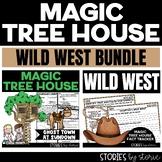 Wild West Magic Tree House Bundle