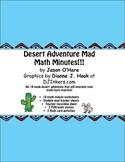 Desert Adventure Math Facts Practice!