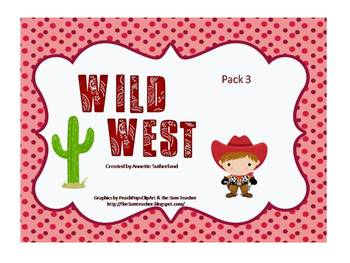 Wild West Learning Pack 3