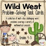 Wild West Problem Solving Task Cards