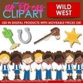 Wild West Rodeo Clip Art (Digital Use Ok!)