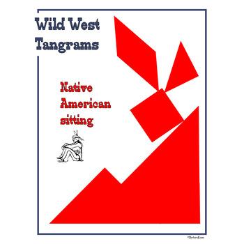 TANGRAMS: Tangrams, Tangram Puzzles, Math Center, Problem Solving, Cowboy Theme