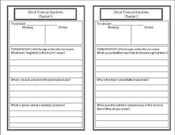 Wild West Unit: 6 Weeks of Lesson Plans {BUNDLED} with response booklets