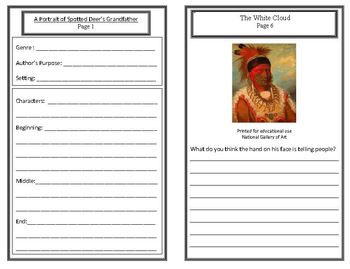 Wild West Unit: George Catlin (Week 5) Common Core Weekly Lesson Plan