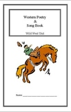 Wild West Unit: Western Poetry (Week 3) Common Core Weekly Lesson Plan