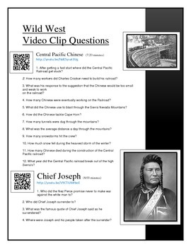 Wild West Video Clip questions