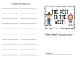 Wild West Vocabulary Booklet