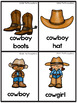 Wild West Vocabulary Picture Cards