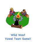 Wild West Vowel Team Game