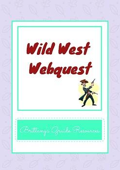 Wild West Webquest