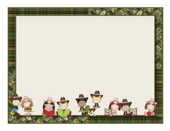 Wild West - Western Themed Classroom Sign Set