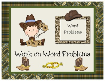 Wild West - Western Themed Mathematicians Workshop Posters