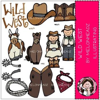 Wild West clip art - by Melonheadz